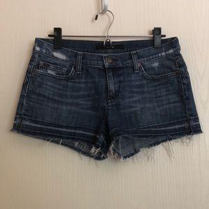 JOE'S JEANS Distressed Cutoff Denim Shorts